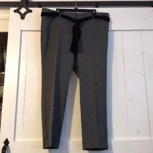 New Condition Loft Slacks with Velvet Belt Size 16